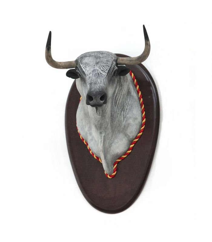 Escultura taurina para decoracion cabeza de toro bravo - Cabezas de animales decoracion ...