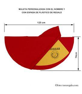 MULETA GRANDE CON ESTOQUE DE REGALO