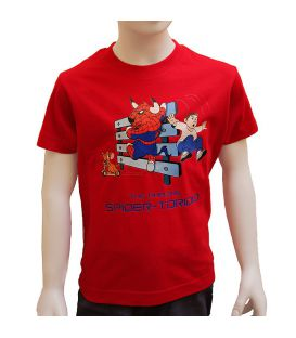 CAMISETA TAURINA SPIDERTORIDIO