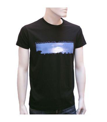 Camiseta Cows under moon