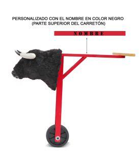 CARRETÓN NIÑO TAMAÑO GRANDE PERSONALIZADO